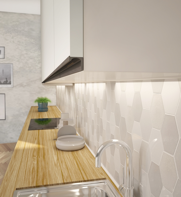 Kitchen Cabinets Cost Per Linear Foot: Aluminum Extruded Handle