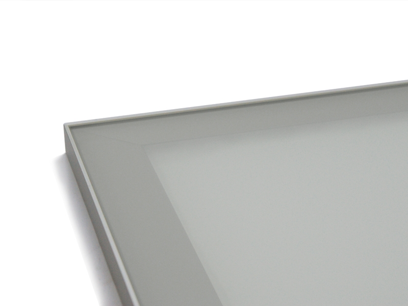 Frosted Satin Glass Inserts Quality Kitchen Cabinet